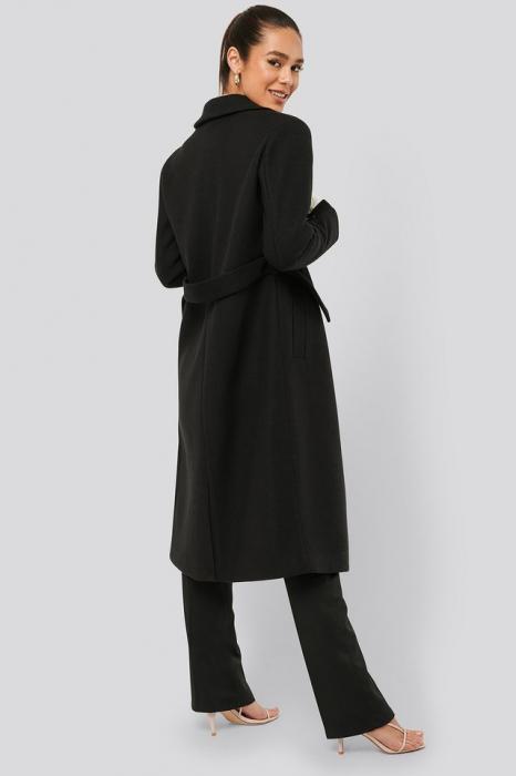 Palton Sleeve Slit Coat [1]
