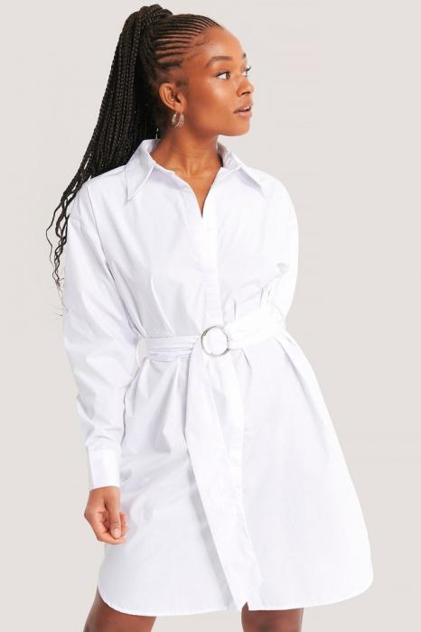 Rochie Camasa O-ring Belted Shirt 0