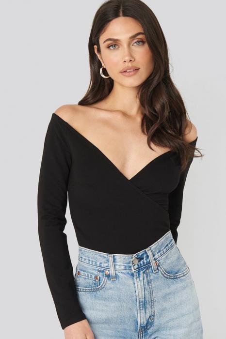 Bluza Off Shoulder Overlap 0