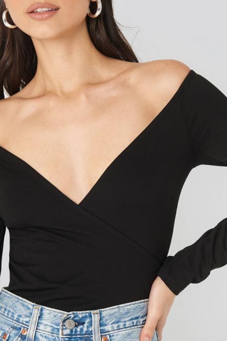 Bluza Off Shoulder Overlap 3