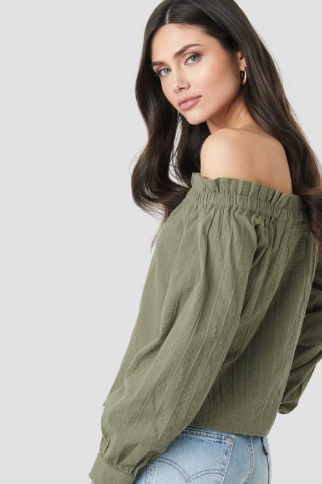 Bluza Off Shoulder Structured 1
