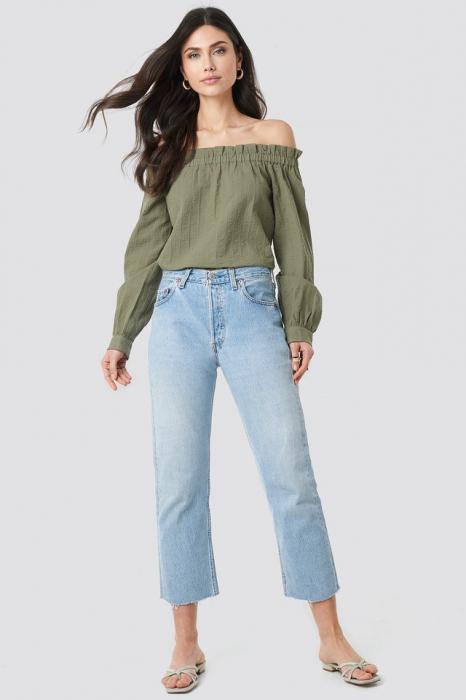 Bluza Off Shoulder Structured 2