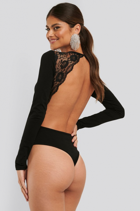 Open Back Lace Body 0