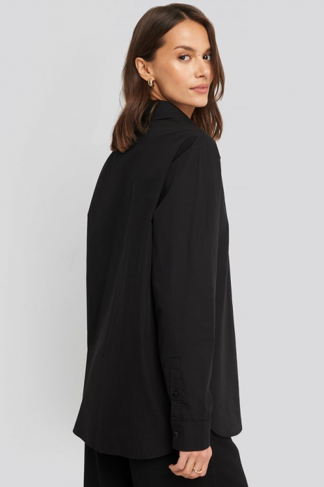 Camasa Oversized Concealed Button 1