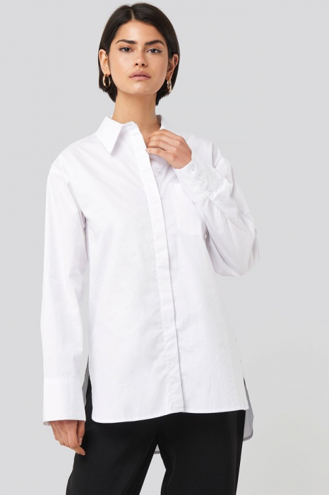 Camasa Oversized Cotton Pocket [0]