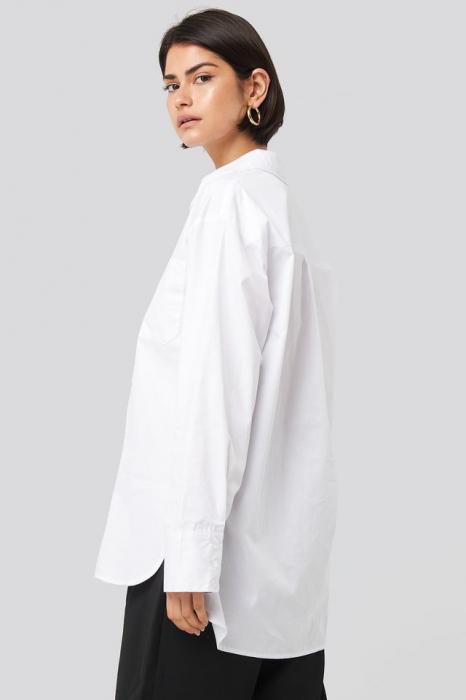 Camasa Oversized Cotton Pocket [3]