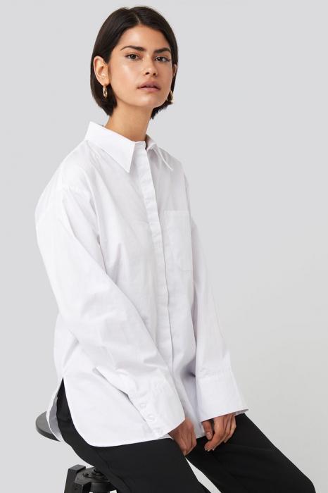 Camasa Oversized Cotton Pocket [1]