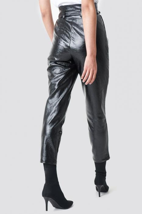 Pantaloni Paperwaist Patent Leather [3]