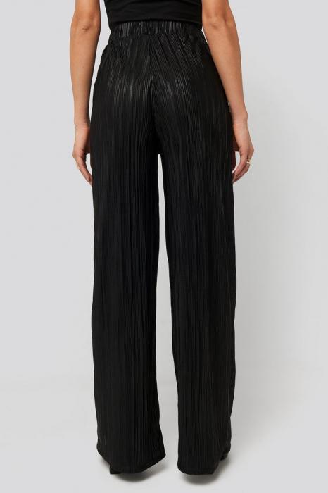 Pantaloni Plisse Wide Leg [2]