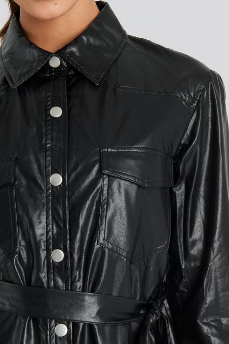 Camasa Pu Shirt Jacket 4