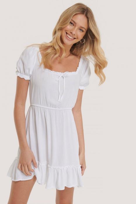 Rochie Puff Sleeve Mini 1