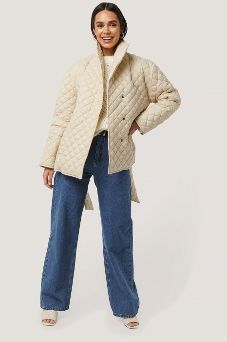 Geaca  Oversized Quilted Short [2]