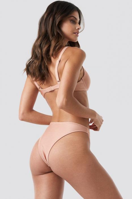Slip De Baie Ribbed High Cut Panty [2]
