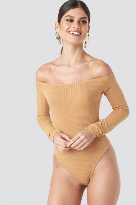 Body Ribbed Off Shoulder 2