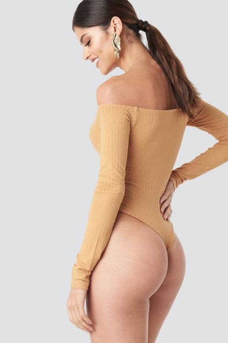 Body Ribbed Off Shoulder 3