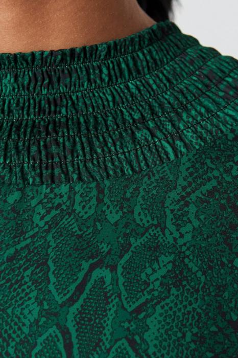 Ruched Detail Midi Dress 2