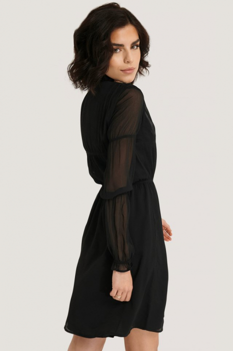 Rochie Ruched Long Sleeve 2