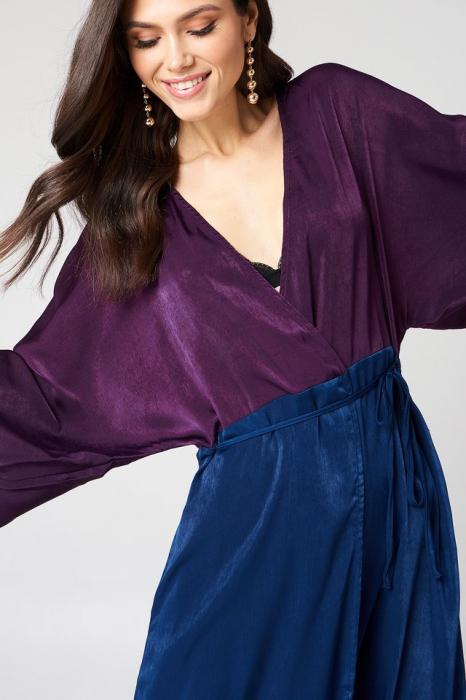 Rochie Satin Coat [3]
