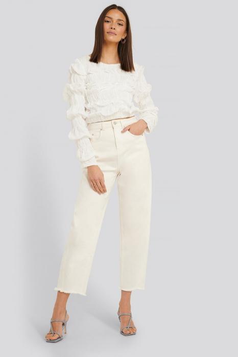 Bluza Shirred Long Sleeve 4