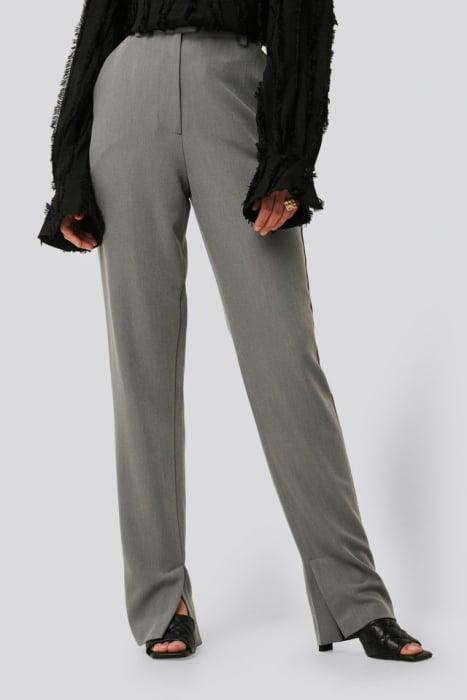 Pantaloni Side Slit Suit [1]
