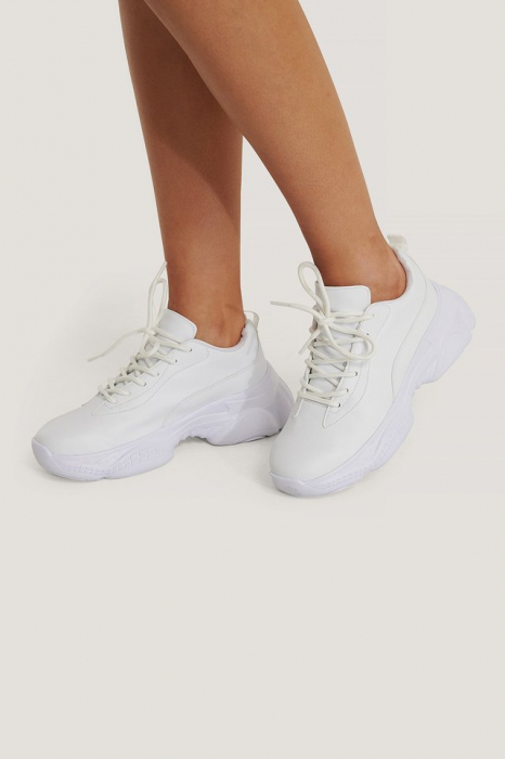 Sneakers Slim Graphic Sole Trainers [3]