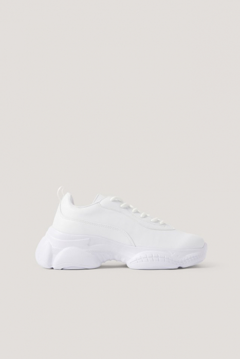 Sneakers Slim Graphic Sole Trainers [0]