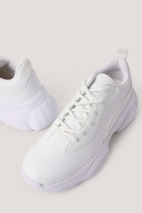 Sneakers Slim Graphic Sole Trainers [1]