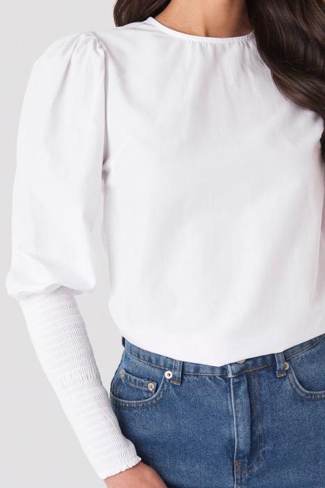 Bluză Smock Sleeve Detail [2]