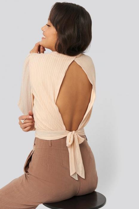 Bluza Tie Back Glittery [1]