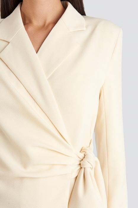 Rochie Sacou Tie Waist Blazer [3]