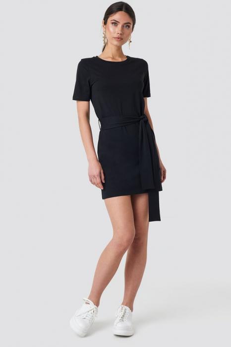 Tie Waist T-shirt Dress 0