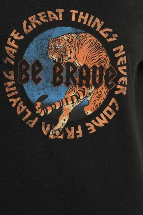 Tricou Tiger Print T-shirt Dress [4]