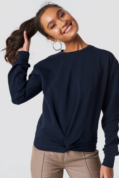 Twisted Front Sweatshirt 0
