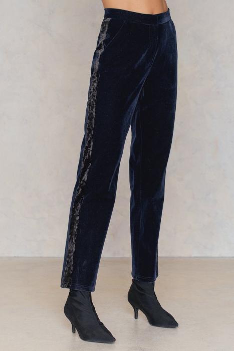 Pantaloni Velvet Striped [2]