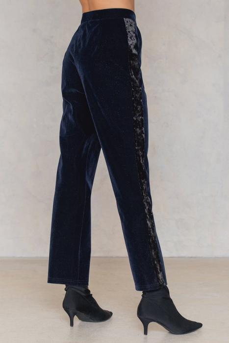Pantaloni Velvet Striped [1]