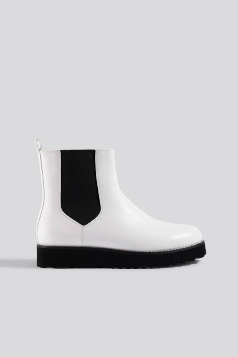 Ghete  Warm Lined Chelsea Boots [0]