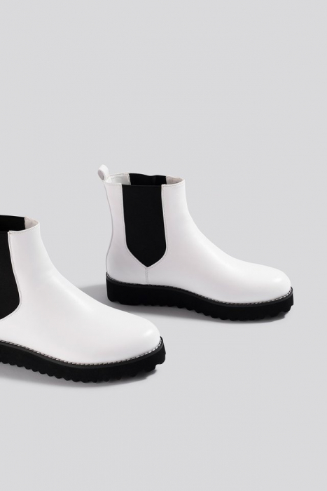 Ghete  Warm Lined Chelsea Boots [1]