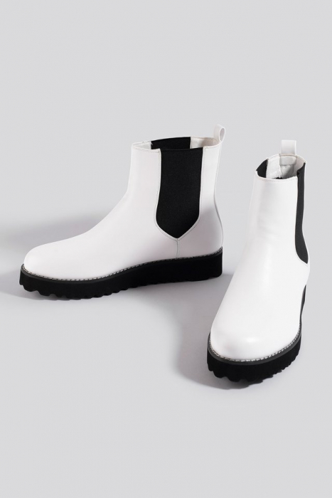 Ghete  Warm Lined Chelsea Boots [2]
