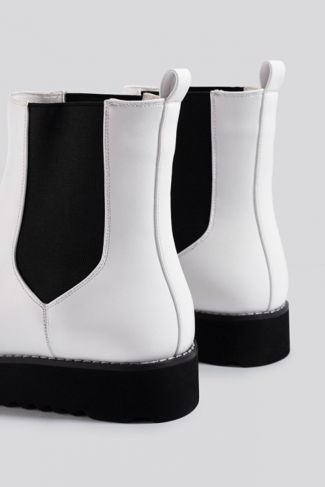 Ghete  Warm Lined Chelsea Boots [3]