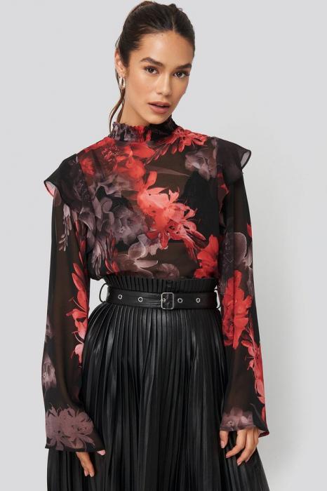 Bluza Wide Sleeve Frill [3]