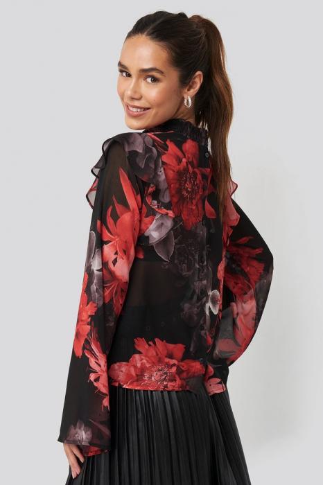 Bluza Wide Sleeve Frill [2]
