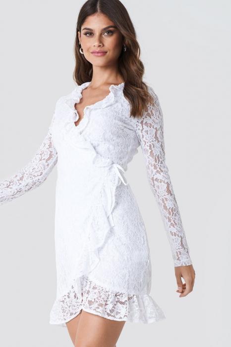 Rochie Wrap Front Lace [0]