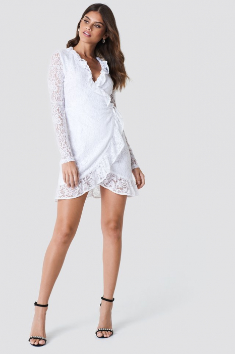Rochie Wrap Front Lace [3]