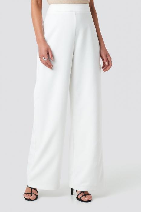 Pantaloni Wide Leg Pants [1]