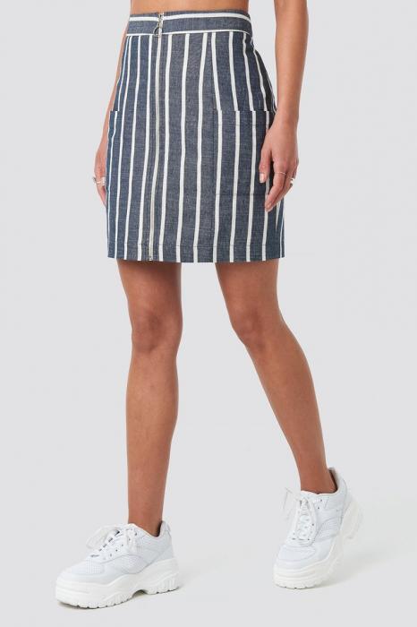 Fusta Zipped Skirt 1