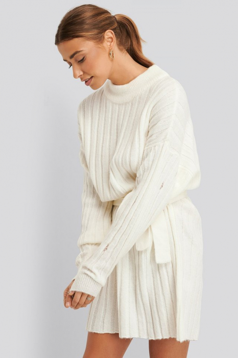 Rochie Oversized Tie Knitted [0]