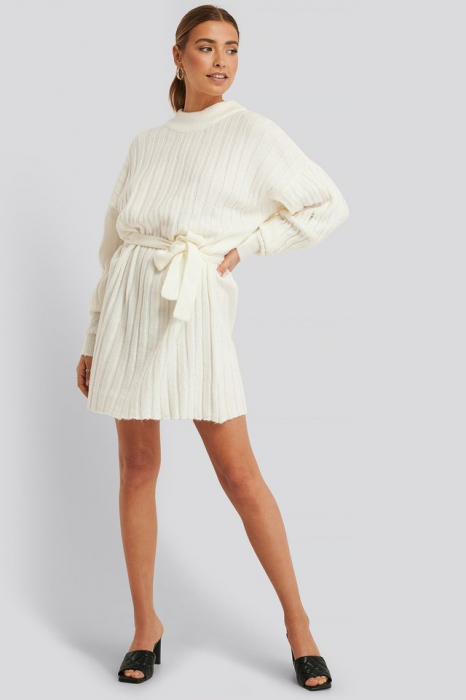 Rochie Oversized Tie Knitted [2]