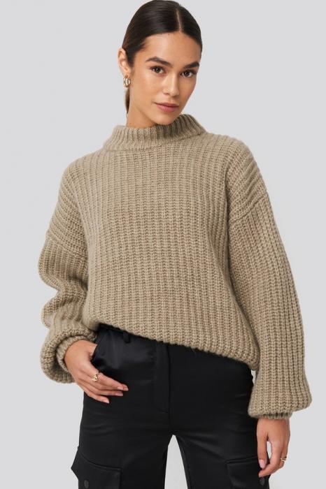 Pulover Round Neck Knitted [0]