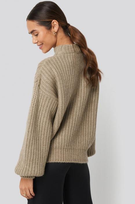 Pulover Round Neck Knitted [1]