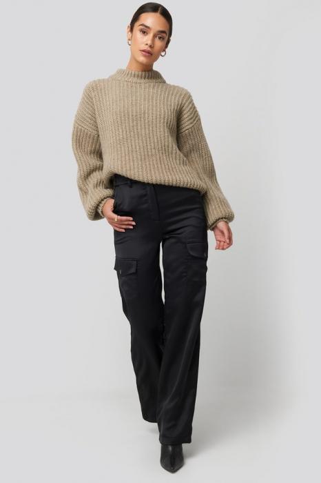 Pulover Round Neck Knitted [2]